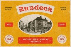 Rundeck - Vintage Texture Font Product Image 1