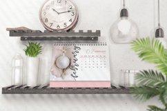 2021 Calendar Template, Desk Calendar Product Image 4