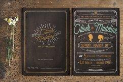 Vintage Hand Lettering Wedding Invitation Product Image 3