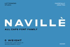 Navillè Family - 6 Fonts Product Image 1