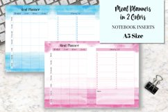 Meal Planners A5 Size Notebook Inserts Product Image 1