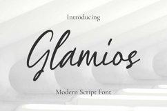 Web Font Glamios Font Product Image 1