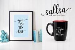 Web Font Sallsa Script Product Image 3