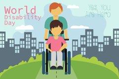 Disability Day Illustration Product Image 1