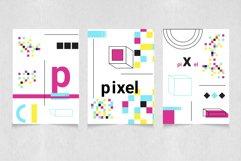 Neon geometric shape,poster,patten Product Image 6
