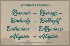 Gingerly - Bold Script Typeface Product Image 4