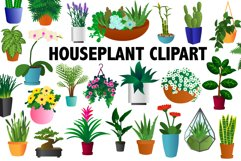 Houseplant Clipart Product Image 1