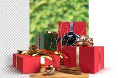 Christmas Mockup Scene PSD Background Product Image 4