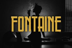 Fontaine Typeface Product Image 1
