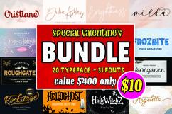 Font Bundle - Special Valentines Product Image 1