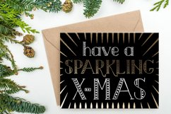MERRY LIGHTS - hand drawn Christmas font Product Image 3
