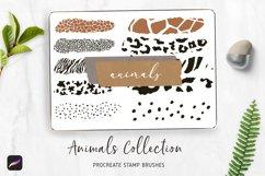 PROCREATE Animal Pattern Brushes | Wild Animals Footprint Product Image 1