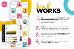 Colorful Instagram Puzzle Template for Canva Product Image 5