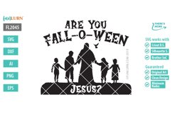 Are You Fall O Ween Jesus SVG Cut File Product Image 2