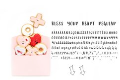 Bless Your Heart Hand Lettered Font Trio w/ Hearts Product Image 4