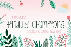 Finally Champions Font Product Image 1