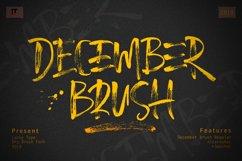 December Brush Font Product Image 1