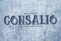 Web Font Gonsalio Product Image 1