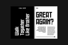 Battlefly Geometric Boxy Typeface Product Image 4