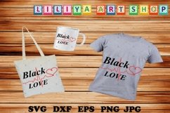 Black Love svg,Africa Love svg,Love svg,Afro woman svg Product Image 1
