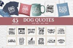Dog Mom svg bundle - dog quotes svg png eps dxf Product Image 1