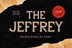 Web Font Jeffrey - Display Font Product Image 1