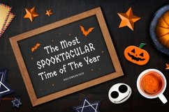 Halloween Mascots - Spooky and Playful Display Typeface Product Image 3