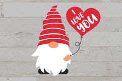Valentine gnomes, valentines day gnomes sublimation png svg Product Image 6