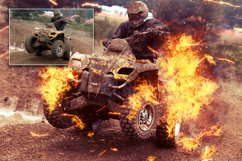 Fire Photoshop Action Product Image 5
