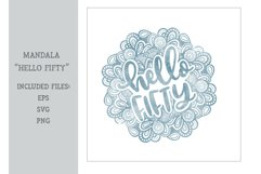 Mandala - Hello Fifty Product Image 1