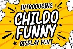 Childo    Funny Font Product Image 1
