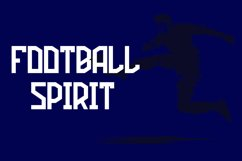 Football Attack Sport Font Product Image 2