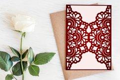 Wedding invitation template, Mandala invitation Product Image 2