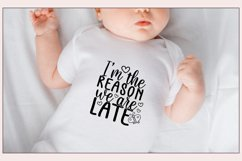 30 Baby SVG Bundle - Baby quotes SVG - New born quotesc SVG Product Image 6