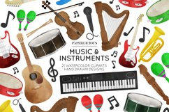 Music Cliparts Product Image 1