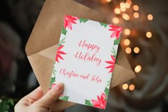 Watercolor Floral Frames Card Borders Backgrounds,Clipart Product Image 5