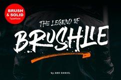 Brushlie - urban typeface - Product Image 1
