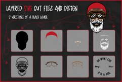 Biker Santa for Crafters, Oh What Fun It Is To Ride SVG Product Image 2