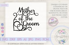 Mother of the Groom Wedding SVG DXF Cut File LL129E Product Image 1