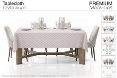 Tablecloth Mockup Set Product Image 1