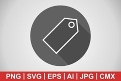 Vector Tag Icon Product Image 1