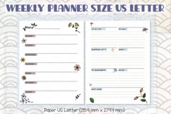 Weekly Planner Organizer | Digital Agenda Mini, Pocket Product Image 8