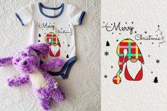 Noel Xmas SVG, Gnome, Merry Christmas, Kids Funny Christmas Product Image 4