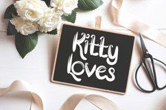Little Kitten - A Modern Cute Font Product Image 2
