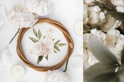 Boho floral clipart, spring flower elements Product Image 4