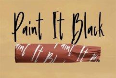 Web Font Balanthur - A New Handwritten Brush Font Product Image 3