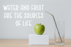 Green Apple | Food and Drink Font Product Image 2