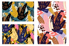 Abstract trendy pattern set Product Image 3