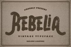 Rebelia   Vintage Typeface Product Image 1