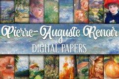 Renoir Paintings Digital Papers Product Image 1